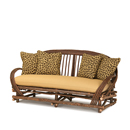 Sofa #1004 shown in Natural Finish (on Bark) La Lune Collection