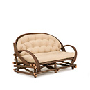 Medium Sofa #1028 shown in Natural Finish (on Bark) La Lune Collection