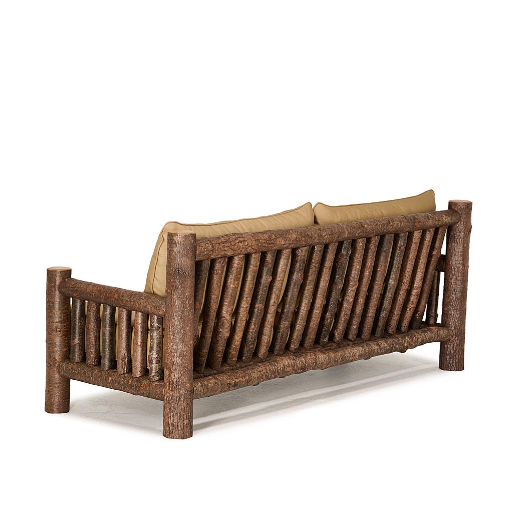 Sofa Rustic Lloyd Lodge Taupe Tufted Cushion Wood Frame Sofa Thesofa