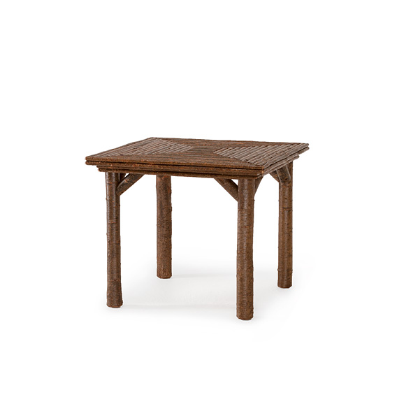 Rustic Table #3031 shown in Natural Finish (on Bark)