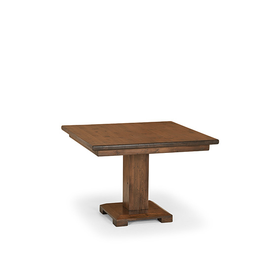 Rustic Dining Table #3140 shown in Medium Pine Finish