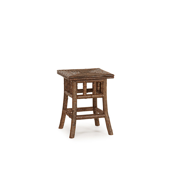 Rustic Table with Willow Top #3375 (shown in Natural Finish on Bark)