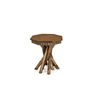 Table with Pine Top #3412 shown in Kahlua Premium Finish (on Peeled Bark) with Medium Pine Top La Lune Collection