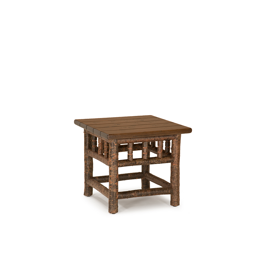 Rustic end table la lune collection for Rustic side table