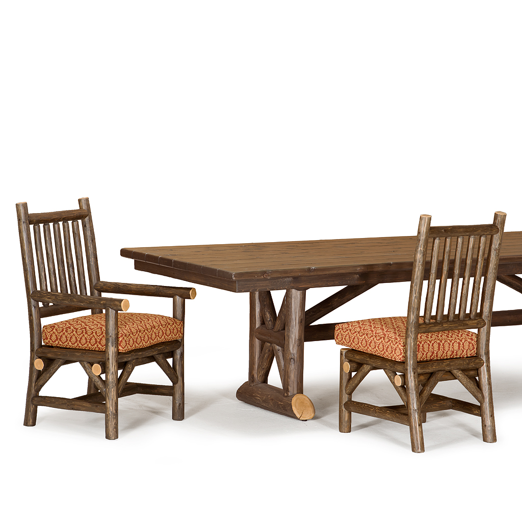 Rustic Trestle Dining Table | La Lune Collection