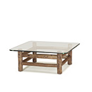 rustic coffee table or base only la lune collection. Black Bedroom Furniture Sets. Home Design Ideas