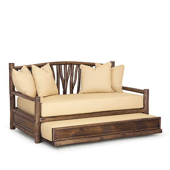 Rustic Trundle Daybed #4672 (Shown in Kahlua Finish)