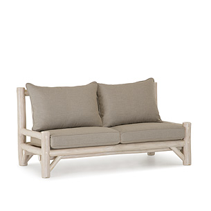 Rustic Armless Sofa and Loveseat