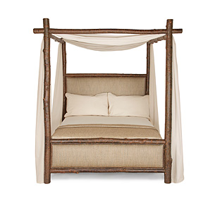 Rustic Canopy Bed