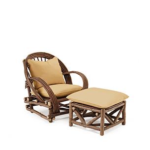 Club Chair #1006 & Ottoman #1010