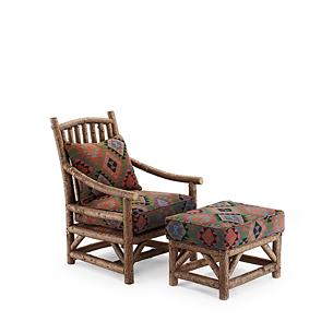 Club Chair #1167 & Ottoman #1173