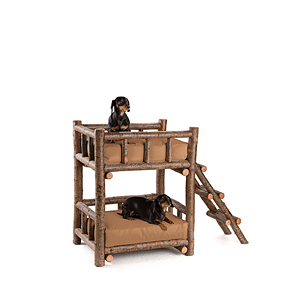 Rustic Dog Bunk Bed