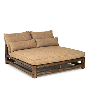Rustic Double Chaise