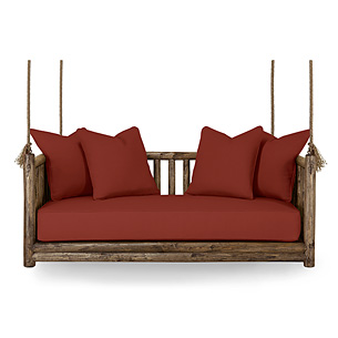 Rustic Hanging Bed and Daybed