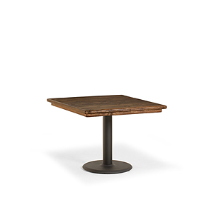 Rustic Dining Table w/Metal Base