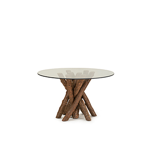 Rustic Dining Table Base Only