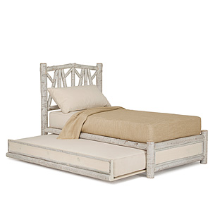 Rustic Trundle Bed