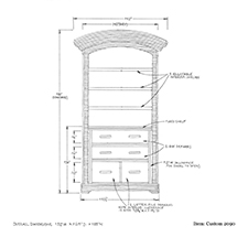 Custom 2090 shop drawing 2