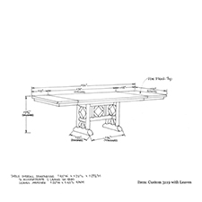 Custom 3119 shop drawing 1