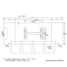 Custom 3119 shop drawing 2