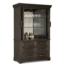 Custom bar cabinet photo 2