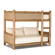 Custom Upholstered Bunk Bed A
