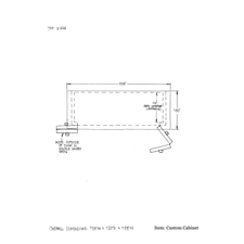 Custom cabinet shop drawing 4