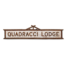 Custom Lodge Sign photo