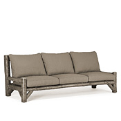 Rustic Armless Sofa #1632