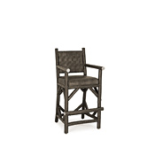 Rustic Counter Stool with Arms #1382