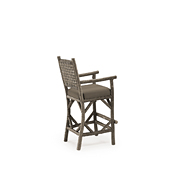 Rustic Counter Stool with Arms #1645