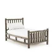 Rustic Bed Twin #4018