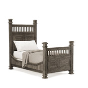 Rustic Bed Twin #4204
