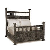 Rustic Bed Full #4206