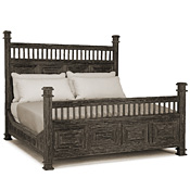 Rustic Bed King #4210
