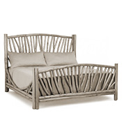 Rustic Bed King #4306
