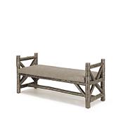 Rustic Bench #1588
