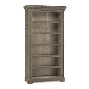 Rustic Five Shelf Bookcase #2078