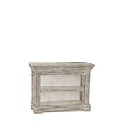 Rustic One Shelf Bookcase #2086