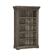 Rustic Bookcase with Four Adjustable Shelves #2202