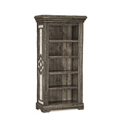 Rustic Bookcase with Four Adjustable Shelves #2508