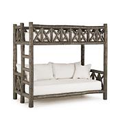 Rustic Bunk Bed (Ladder Left) #4257L