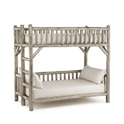 Rustic Bunk Bed (Ladder Left) #4258L