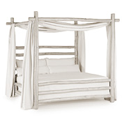 Rustic Canopy Bed Twin #4086