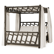 Rustic Canopy Bed Twin #4172