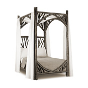 Rustic Canopy Bed Twin #4276