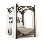 Rustic Canopy Bed Full #4278