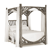 Canopy Bed Queen #4280