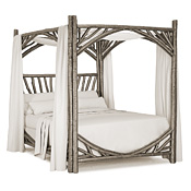 Rustic Canopy Bed King #4282