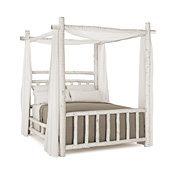 Rustic Canopy Bed Twin #4530